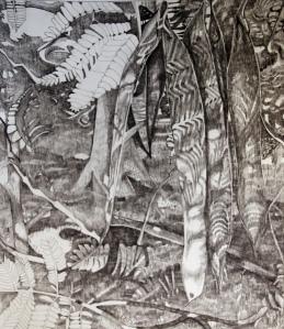 "Graphite on Paper, 17"" x 11"", 2011"